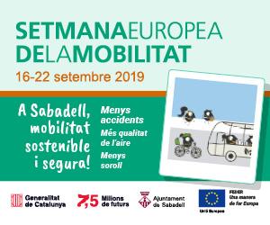 Setmana Europea de la Mobilitat setembre 2019