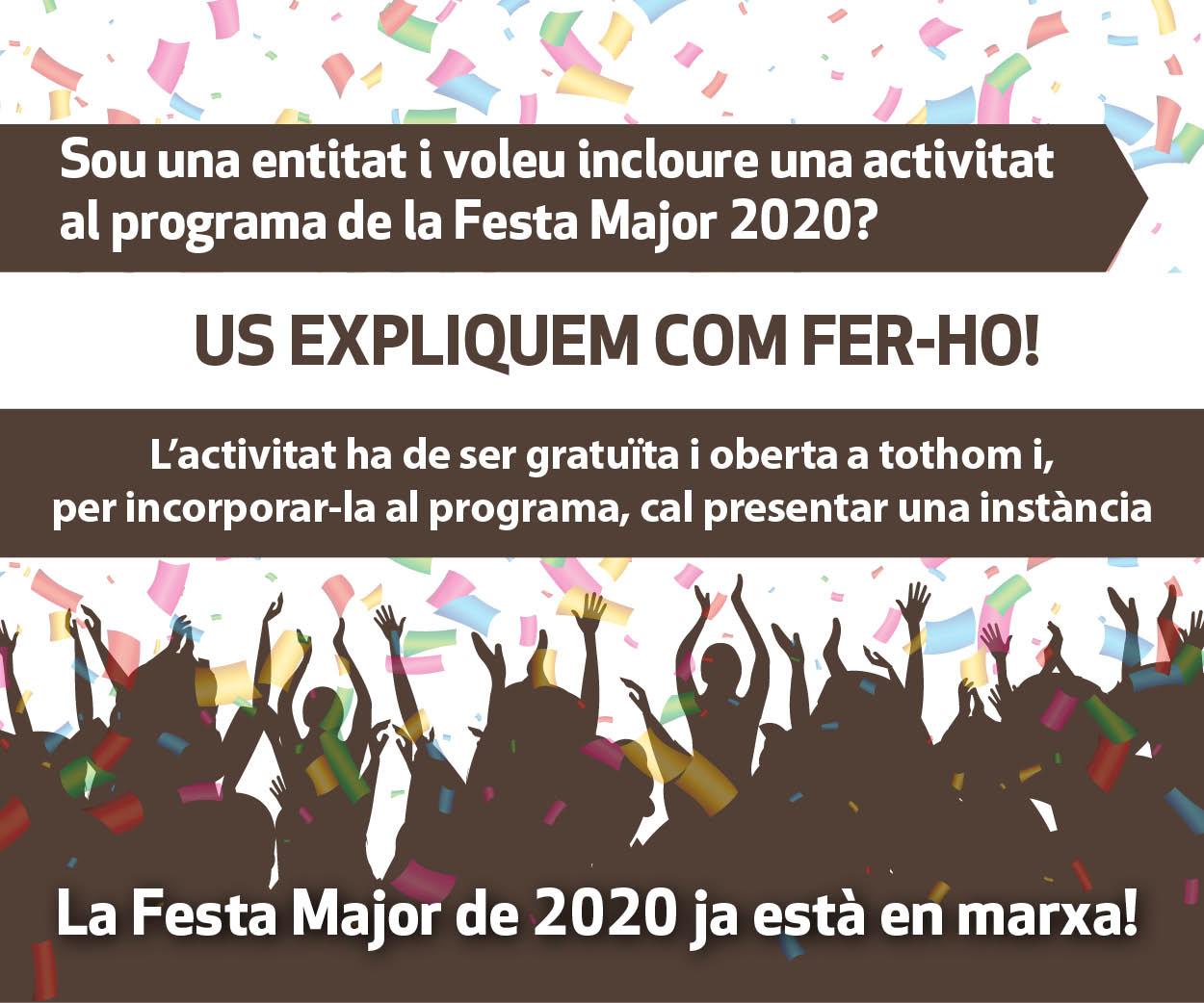 La Festa Major 2020 ja està en marxa!