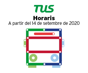 Horaris Bus Urbà setembre 2020