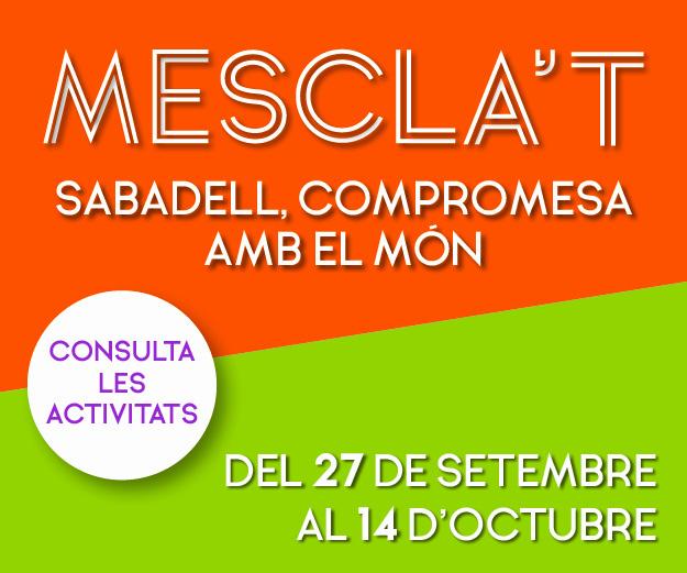 Mescla't  2021 - Ajuntament  de Sabadell