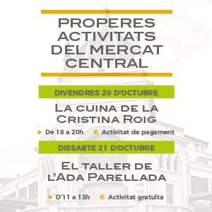 Activitats al Mercat Central