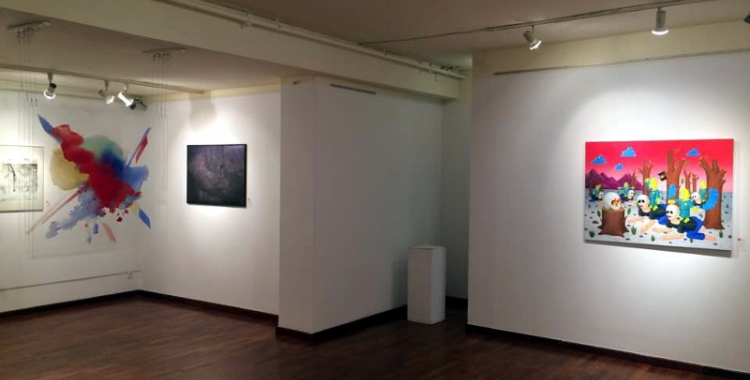 Fotografia de l'exposició - © Xavi Miralles