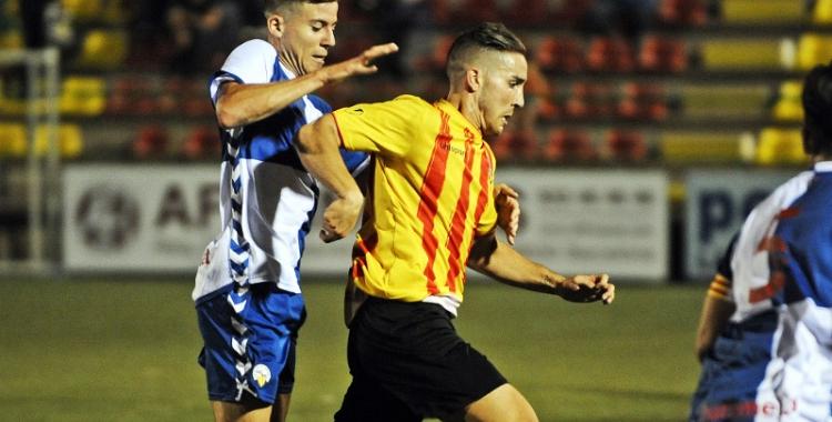 Imatge de David Toro d'aquesta temporada contra el Sant Andreu - © Adrià Giménez