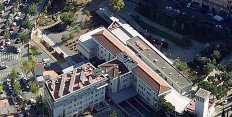 Imatge aèria del complex Sabadell Gent Gran (Ca n'Oriac, Sabadell) - © Cedida