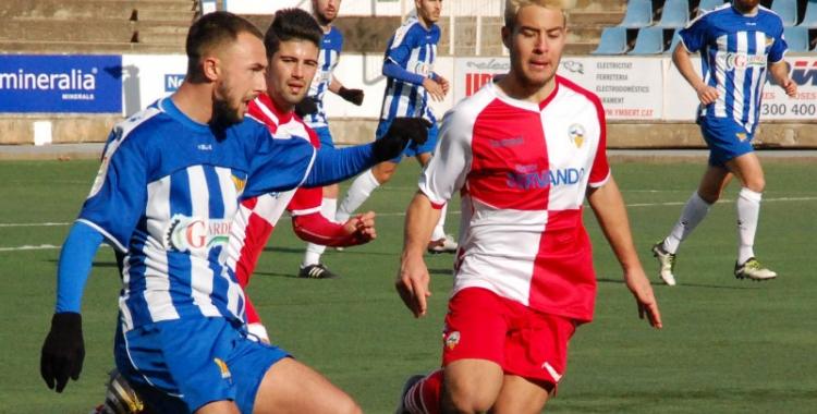 Imatge del partit entre el Figueres i el Sabadell B - © UE Figueres