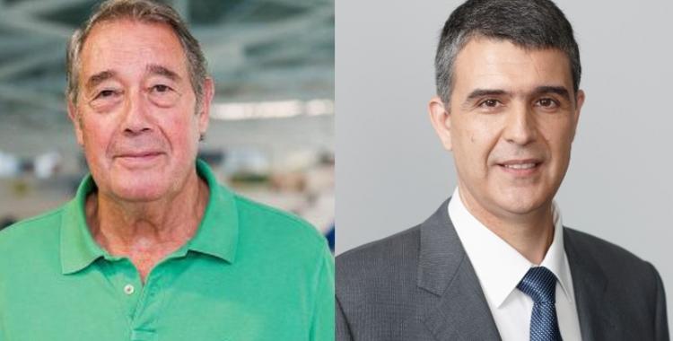 Torres (esquerra) i Martí (dreta) repetiran les eleccions del 2011 - © Arxiu Ràdio Sabadell