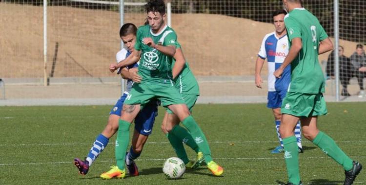 Tot o res del Sabadell juvenil contra el Santo Domingo - © Roger Benet - CES