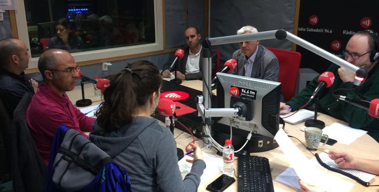 Debat sobre el Ple municipal a Ràdio Sabadell