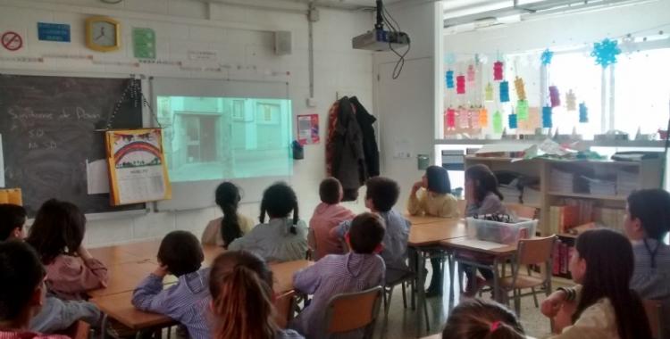 Andi ha fet tallers en tres escoles / Andi Down
