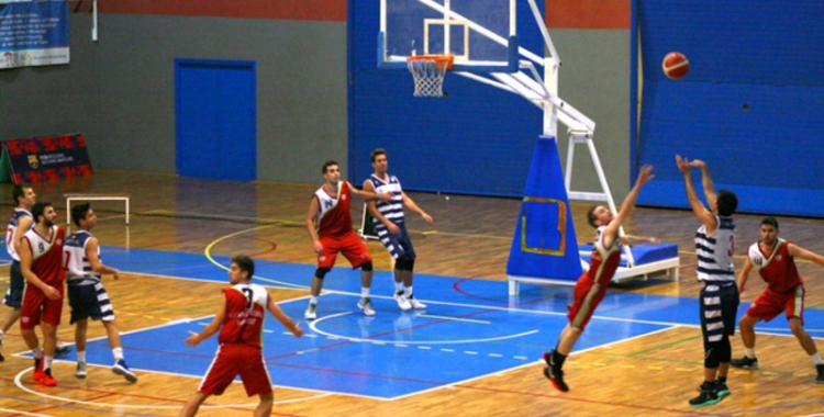 Imatge del partit de la primera volta