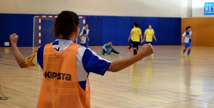 Imatge del Sabadell-Altafulla de la primera volta | FS Sabadell Fem