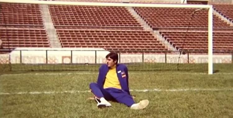 Garzón al mític estadi Azteca l'any 1968