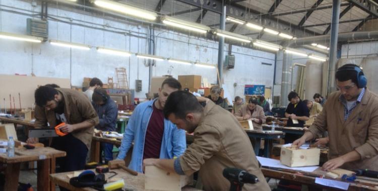 Escola Industrial, XXV concrus d'estudiants de fusta i moble