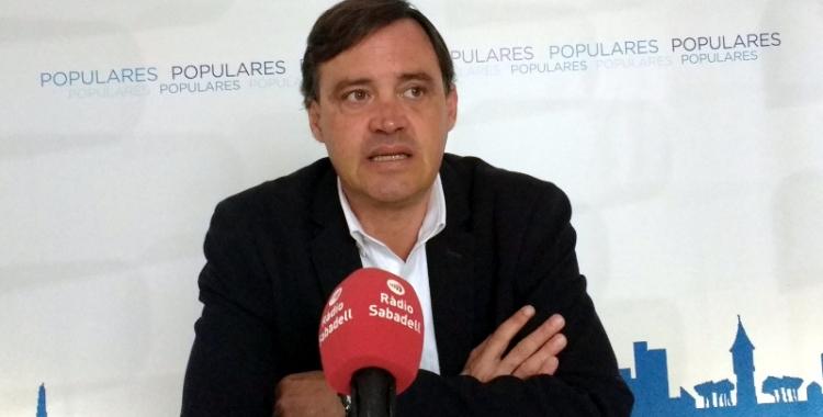 Esteban Gesa, portaveu del PP a l'Ajuntament