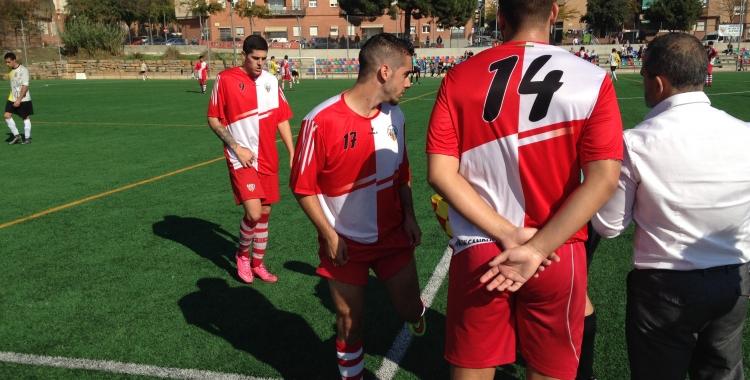 Imatge del partit contra el Gironella de la primera volta | Adrián Arroyo