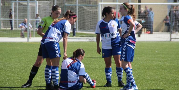 El Sabadell femení a tocar de la permanència