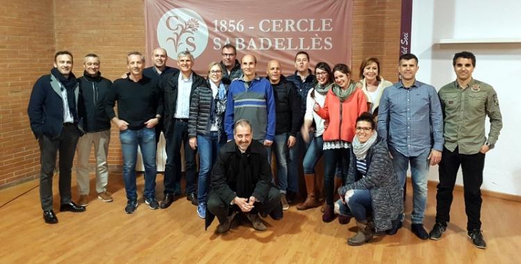 Jordi Andreu s'imposa en les segones eleccions en la història del Cercle Sabadellès