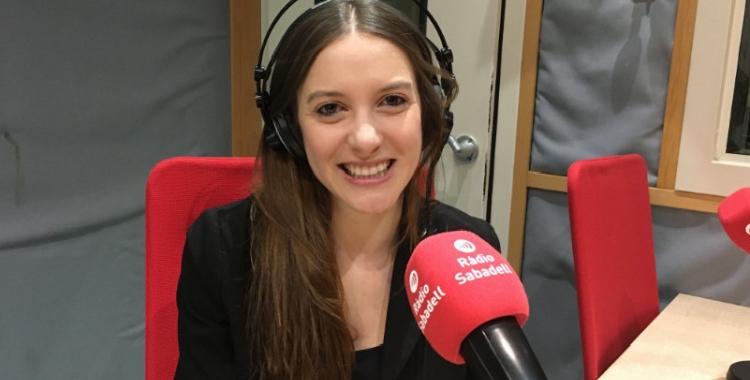 La cantant Museless ha passat avui per Ràdio Sabadell   Marc Pijuan