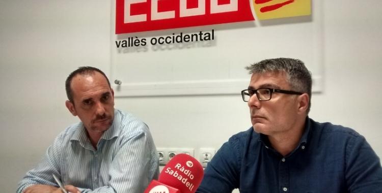 Rodríguez (esquerra) liderarà el sindicat quatre anys més