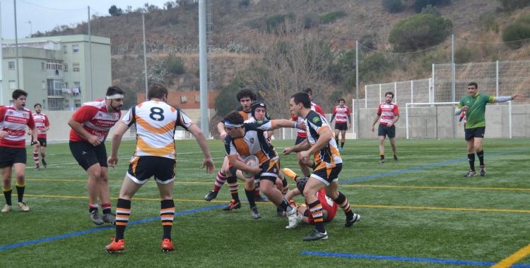 Imatge d'un partit del Sabadell RC