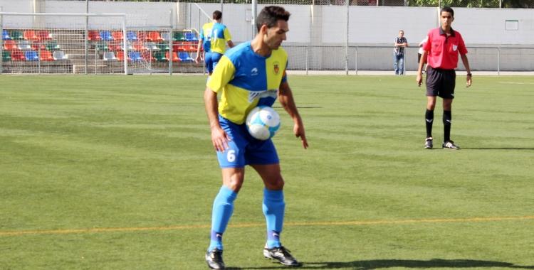 Josep Piñol, capità del Sabadell Nord | Adrián Arroyo