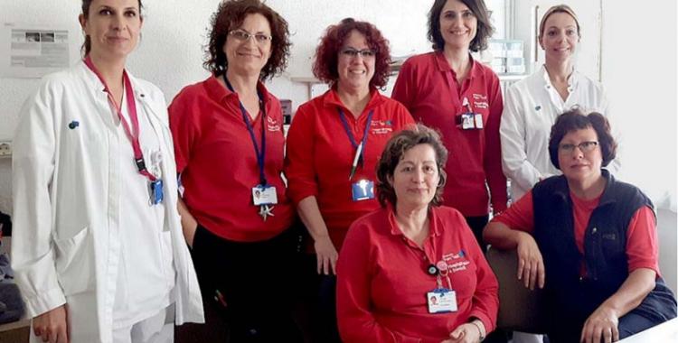 L'hospitalització a domicili compta amb sis infermeres i tres metges/ Taulí