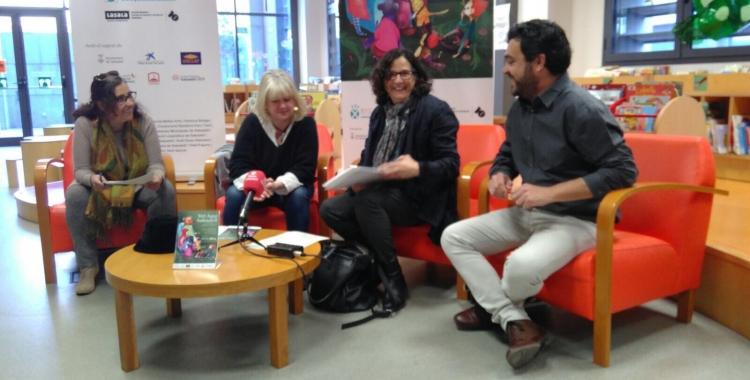 Els responsables del Vet aquí Sabadell, durant la presentació de la segona edició