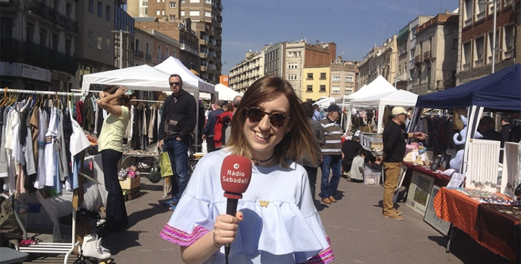 Irene Coll, organitzadora Flea Market Sabadell