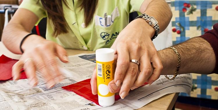 Un dels tractaments que es fan a l'AVAN | www.avan.cat