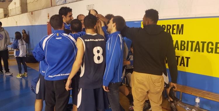 El Natació Sabadell celebra una nova victòria