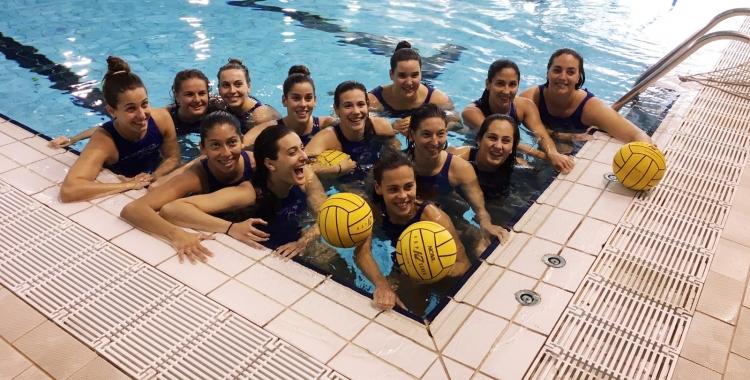 L'Astralpool femení s'ha entrenat per últim cop avui a Sabadell abans de viatjar a Kirishi | CNS