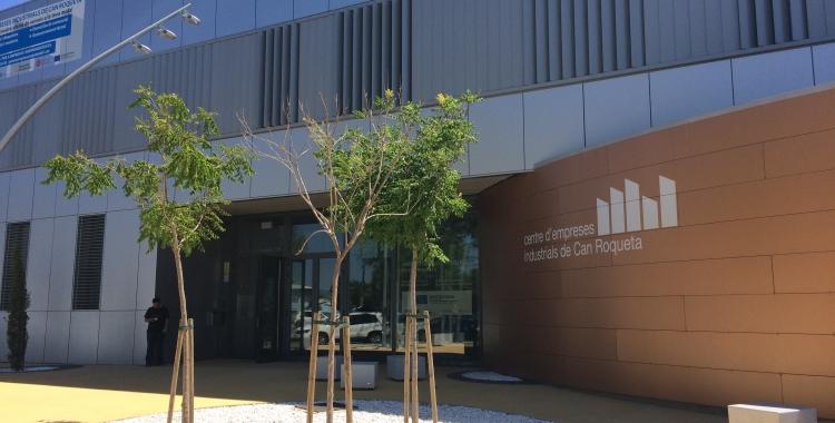 El Centre d'Empreses de Can Roqueta és un dels pols d'atracció del polígon | Xavi Miralles