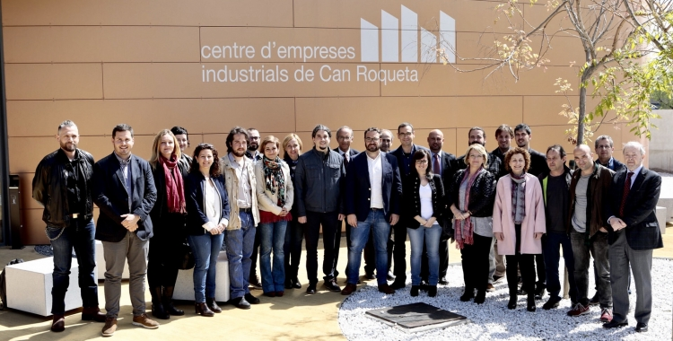 Els signats de la Declaració de Can Roqueta   Juanma Peláez