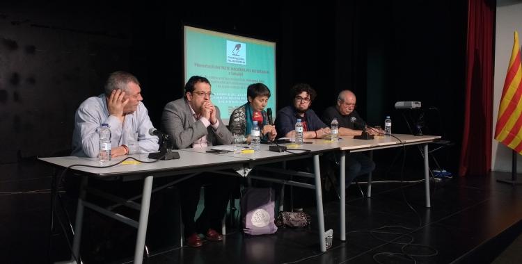El Pacte Nacional pel Referèndum s'ha presentat avui a Cal Balsach