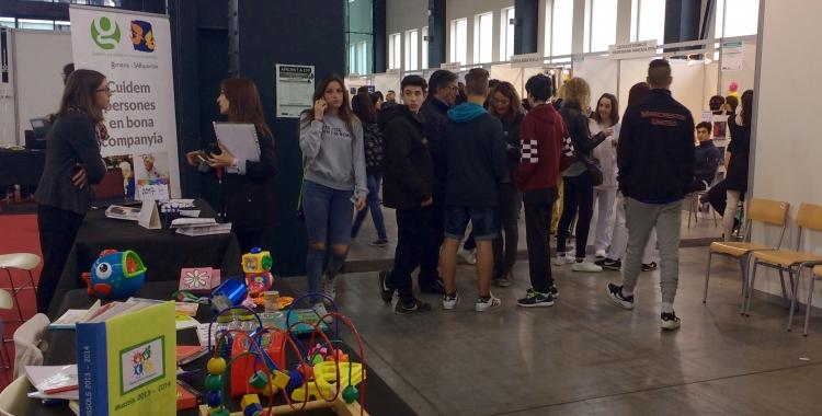 Un miler de joves passaran per l'Apropa't a l'FP