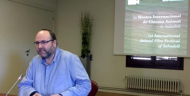Miquel Soler ha presentat avui la Mostra Internacional de Cinema Animal