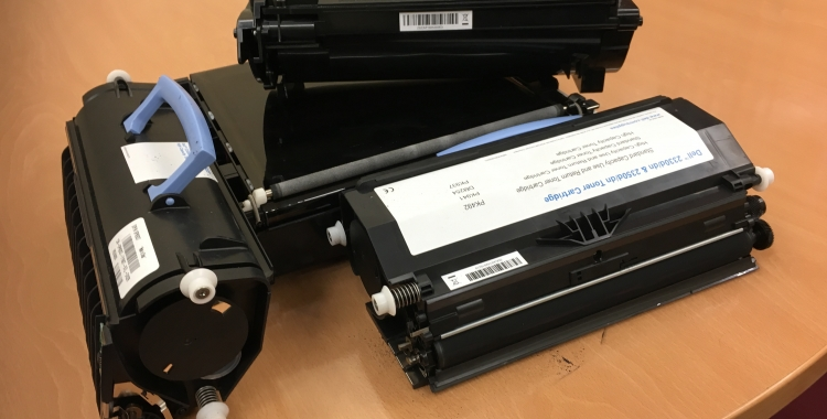 Els tòners de les impressores són un dels residus especials   Mireia Sans