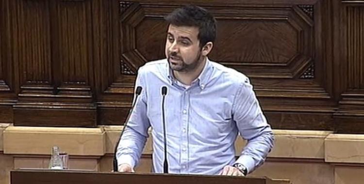 Pol Gibert al Parlament