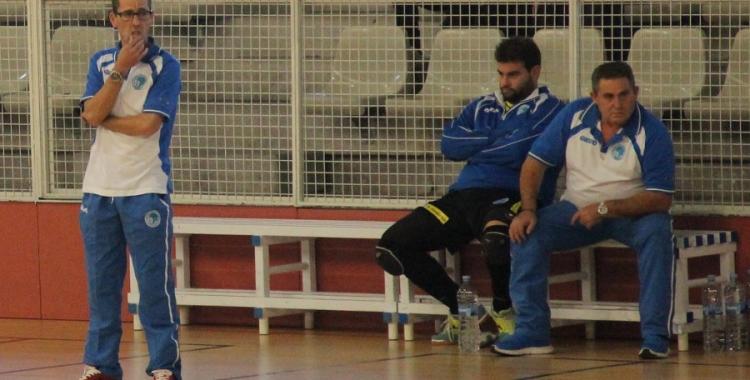 Diego Blanco continuarà a la banqueta del CNS de futbol sala