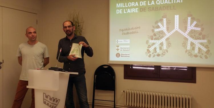 Serracant i Berlanga han presentat avui el Pla d'Acció per a la Millora de la Qualitat de l'Airer