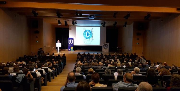 L'Auditori de l'Espai Cultura ha acollit la segona edició de la Nit de la Ciència