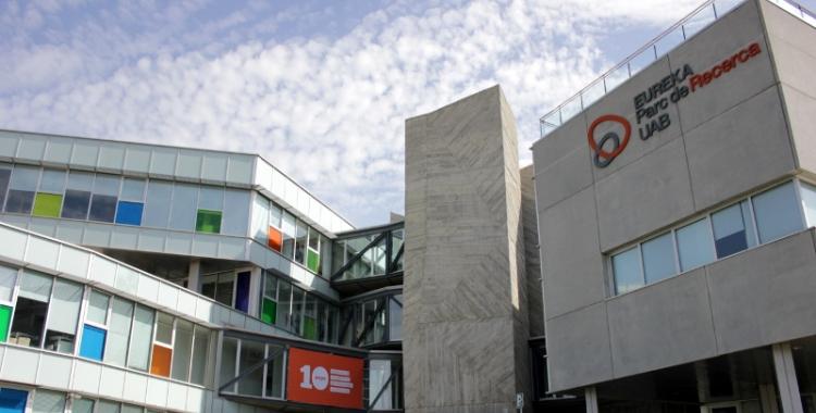 Imatge de l'edifici Eureka, seu del Parc de Recerca de la UAB