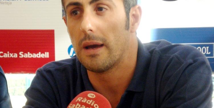 David Palma en una imatge d'arxiu com a capità de l'equip masculí