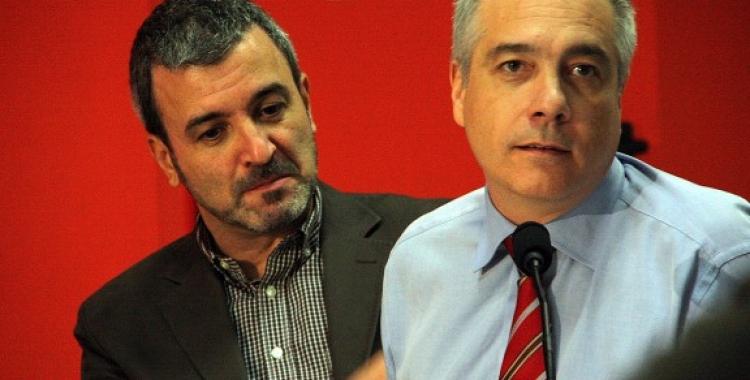 Collboni (esquerra) i Navarro | @ACN