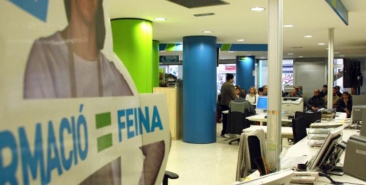 Una de les oficines del Servei d'Ocupació de Catalunya | ACN