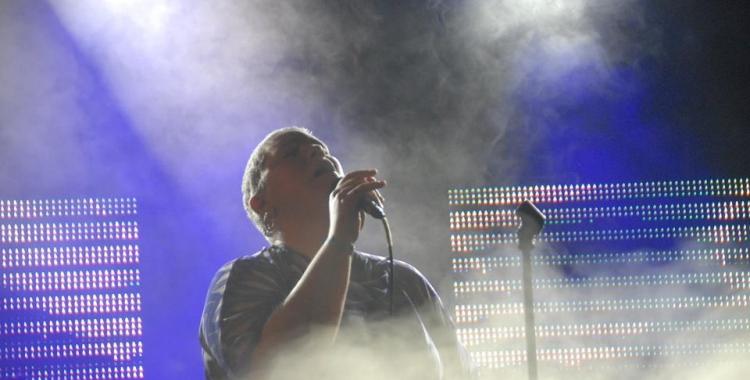 Anímic durant un moment del concert. Foto: Ràdio Sabadell. Autor: Aleix Graell