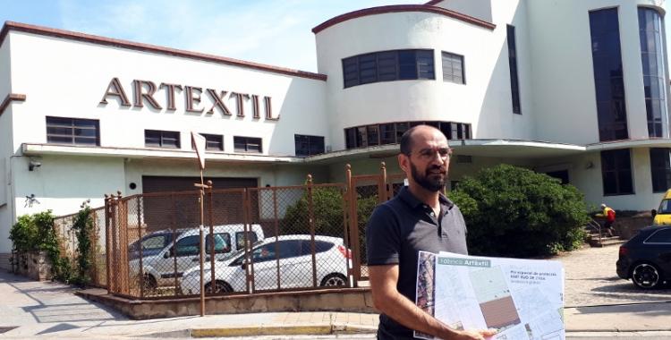 Maties Serracant ha explicat avui la realitat de l'Artèxtil/ Karen Madrid