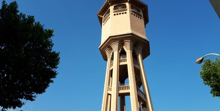La Torre de l'Aigua arribarà al centenari l'any que ve/ Karen Madrid