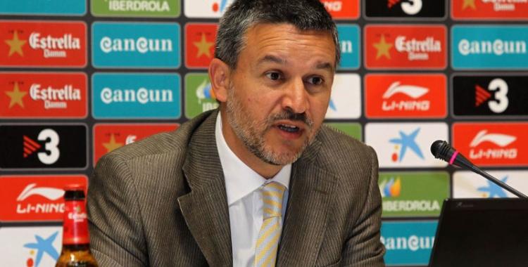 Casado durant la seva etapa com a coordinador de l'Espanyol | AS