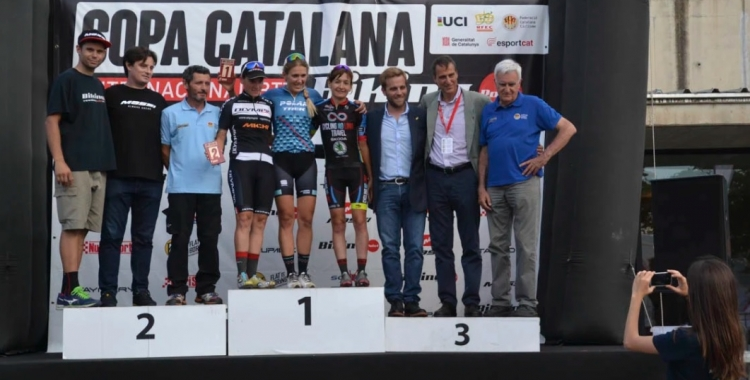 Santanyes va acabar dalt del podi a Girona | Sea Otter Europe